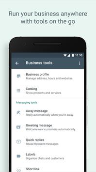 WhatsApp Business スクリーンショット 4