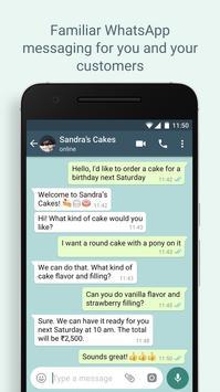 WhatsApp Business スクリーンショット 5