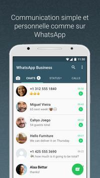 WhatsApp Business capture d'écran 3
