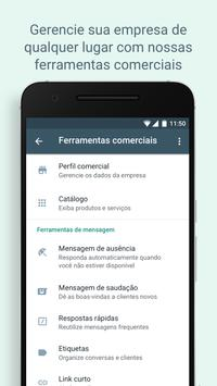 WhatsApp Business imagem de tela 5