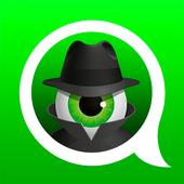 مكافحة التجسس على WhatsApp  إخفاء آخر مشاهدة أيقونة