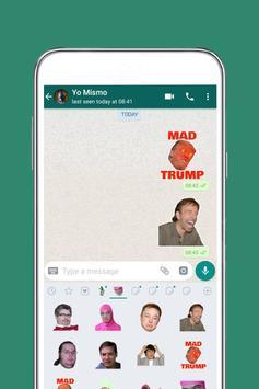 Free Wants Messenger Stickers 2020 screenshot 1