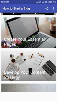 Start Blogging And Earn Money 2019 screenshot 5