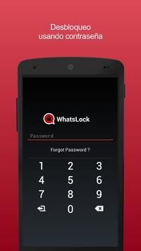 Protección y bloqueo para apps(WhatsLock) captura de pantalla 3