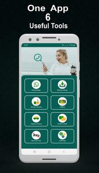 Whats web scan pro - dual app for whatsapp Poster