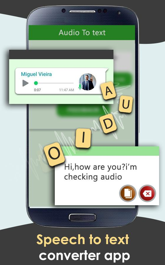 Audio to Text for Android - APK Download