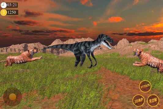 Tiger Vs Dinosaur - Wild Jungle Adventure screenshot 3