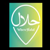 WhereHalal icon