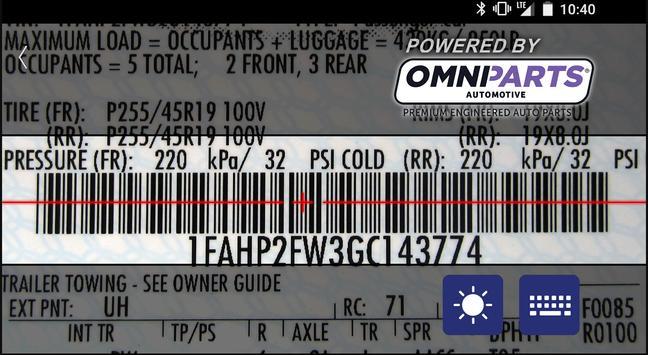 OMNIPARTS AUTOMOTIVE screenshot 1