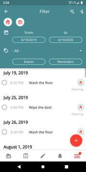 Housekeeping. Planner & reminder household chores screenshot 6