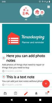 Housekeeping. Planner & reminder household chores screenshot 2