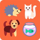Animal and pet care diary icon