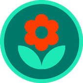 House plants - gardener diary, herbs, grower icon