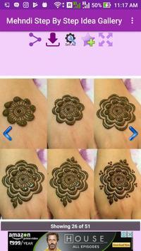 Mehandi Step By Step Idea Gallery screenshot 3