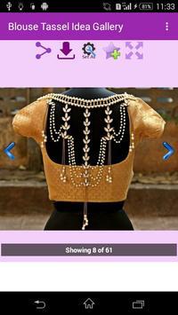 Blouse Tassel Idea Gallery screenshot 2