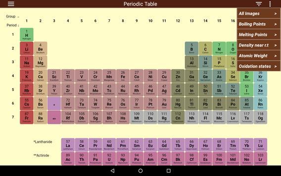 Periodic Table Ekran Görüntüsü 14