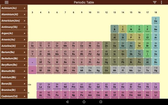 Periodic Table Ekran Görüntüsü 8