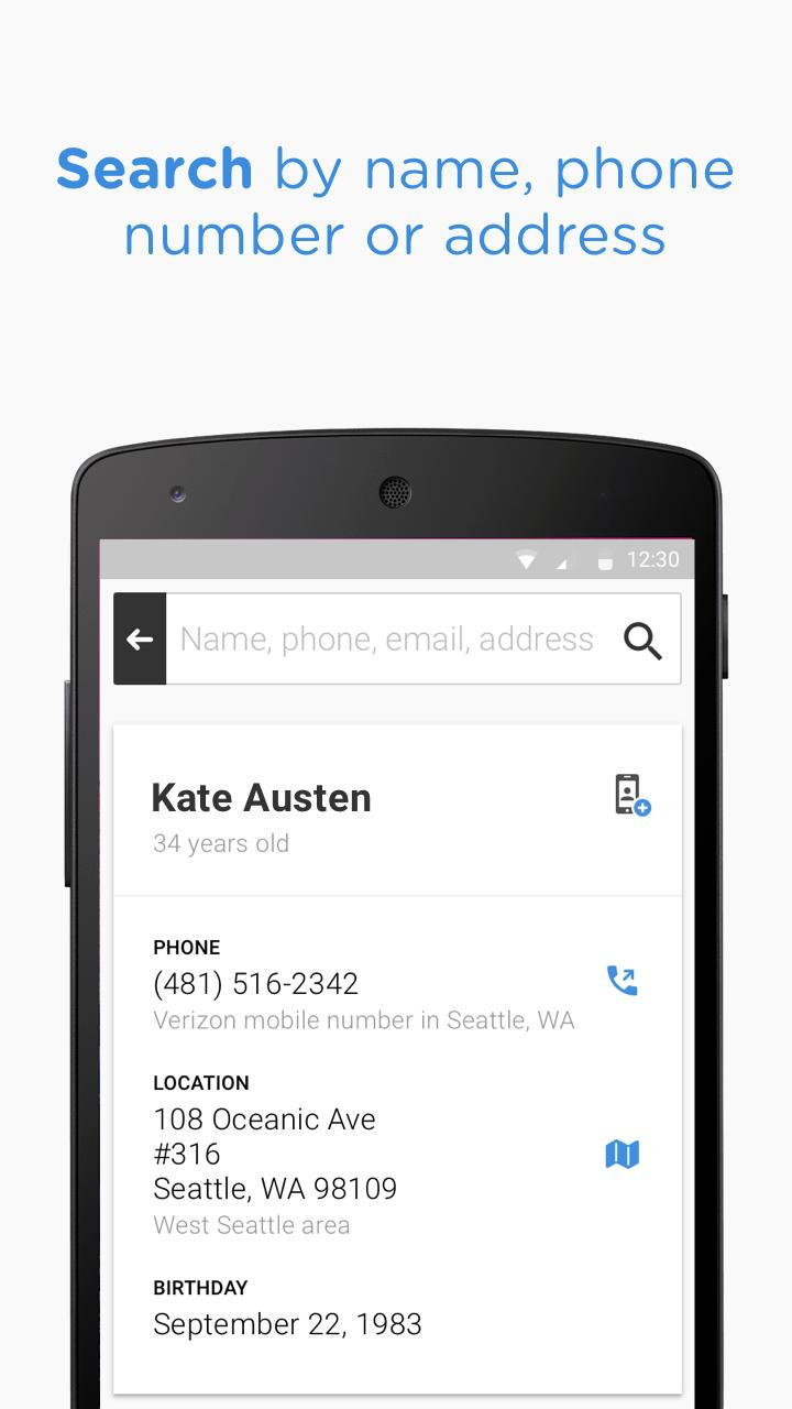 Whitepages for Android - APK Download