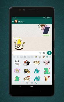 Free Messenger Whats Stickers New постер