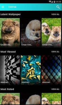 Chow Chow Puppies Wallpaper poster