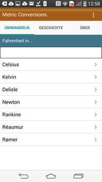 Einheiten Umrechnen Screenshot 2