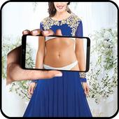 Girl Cloth Xray Scan Simulator icon