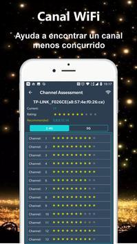 Analizador WiFi - Analizador de redes captura de pantalla 3
