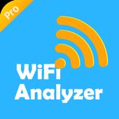 WiFi Analyzer Pro(No Ads) - WiFi Test & WiFi Scan simgesi