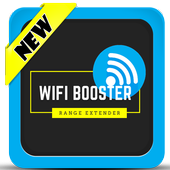 Wifi Booster - Range Extender : simulated icon