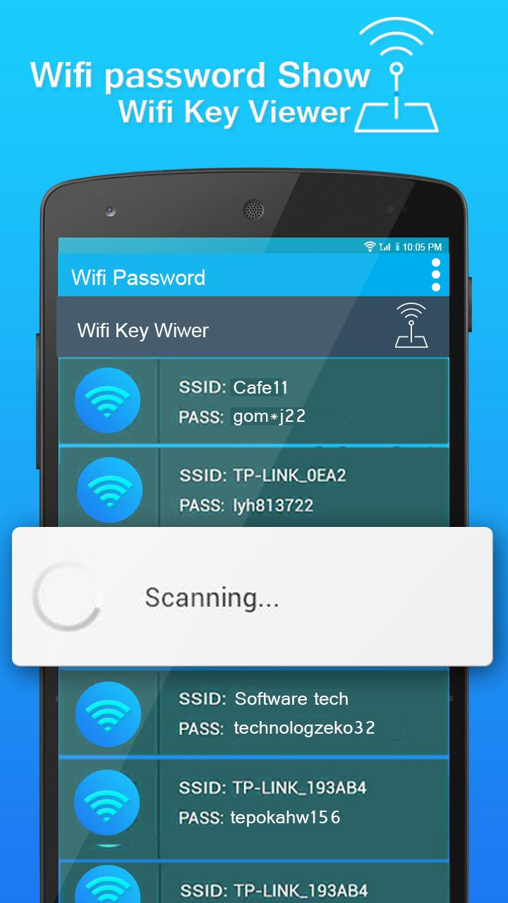 Wifi Password key Show for Android - APK Download