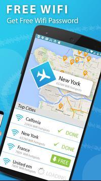 عرض خريطة Wifi وكلمات المرور: مفتاح كلمة مرور Wifi الملصق