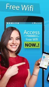 عرض خريطة Wifi وكلمات المرور: مفتاح كلمة مرور Wifi تصوير الشاشة 3