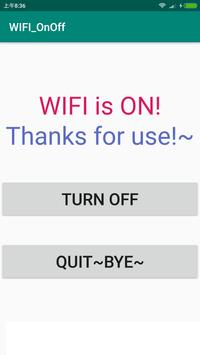 WIFI_OnOff screenshot 1