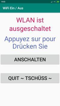 WiFi Ein / Aus poster