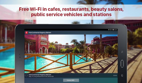 Free WiFi Passwords on the Map - Wi-Fi Space screenshot 6