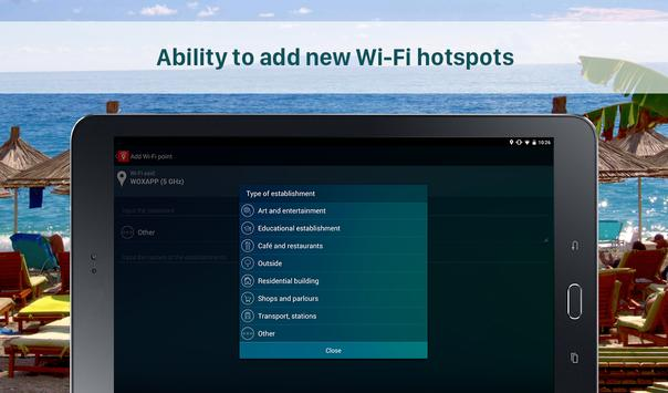 Free WiFi Passwords on the Map - Wi-Fi Space screenshot 9