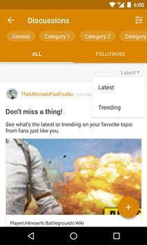 FANDOM for: PUBG تصوير الشاشة 1