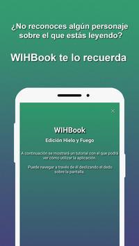 WIHBook: Hielo y Fuego poster