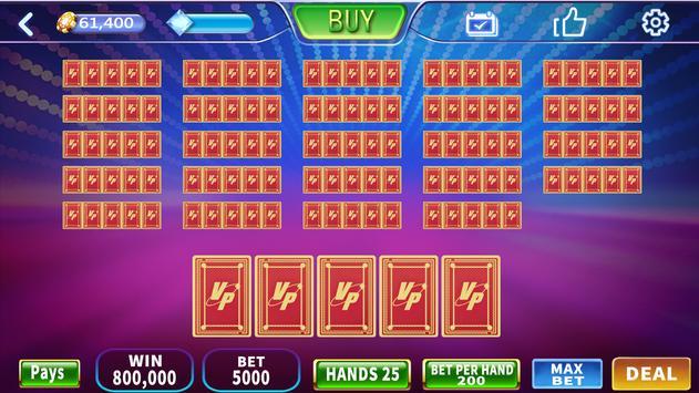 Royal House - Free Vegas Multi hand  Video Poker screenshot 3