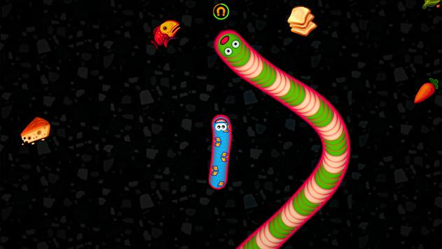 Worms Zone .io - Voracious Snake स्क्रीनशॉट 4