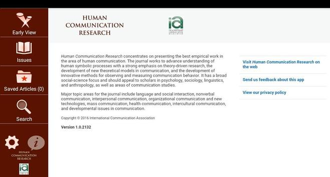Human Communication Research for Android - APK Download