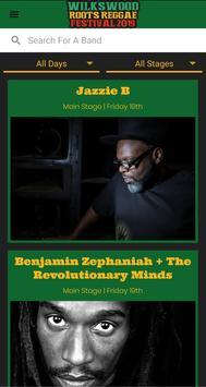 Wilkswood Roots Reggae Festival poster