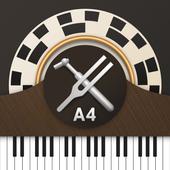 ピアノメーター - プロ ピアノチューナー アイコン