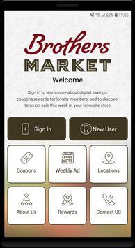 Brothers Market Cartaz