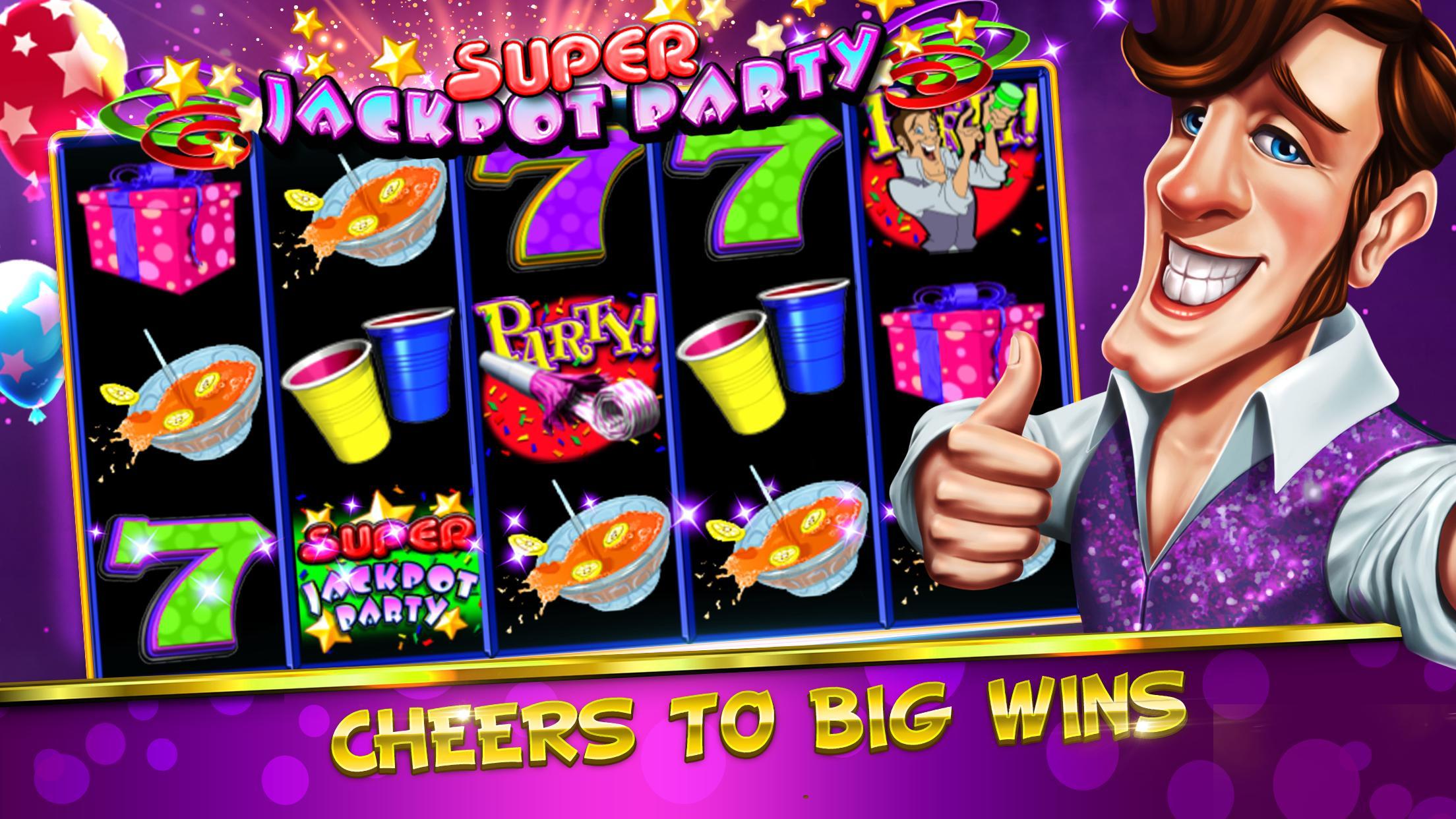 Jackpot Win Celebration at Party Casino