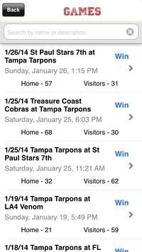 Tampa Tarpons screenshot 1