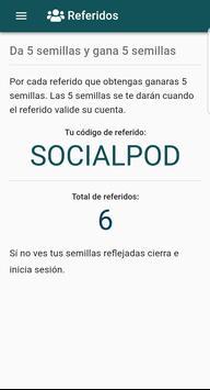 SocialPod captura de pantalla 2