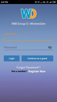 RRB Group D 2019 | WinnersDen screenshot 1