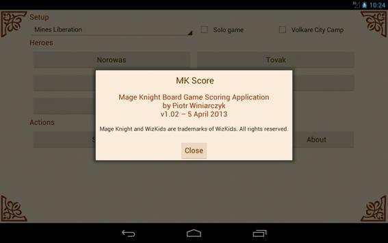 MK Score تصوير الشاشة 20