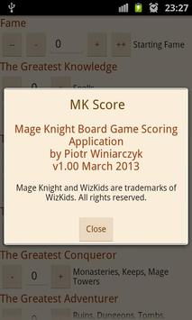 MK Score تصوير الشاشة 6